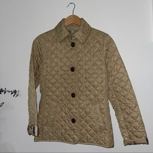 Burberry Brit Diamond Quilted Modern Jacket